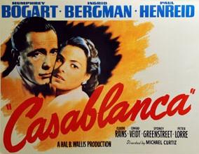 locandina del film Casablanca