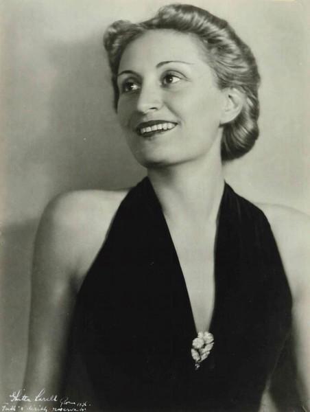 Edda Ciano in una foto del 1936 di foto di Ghitta Carel