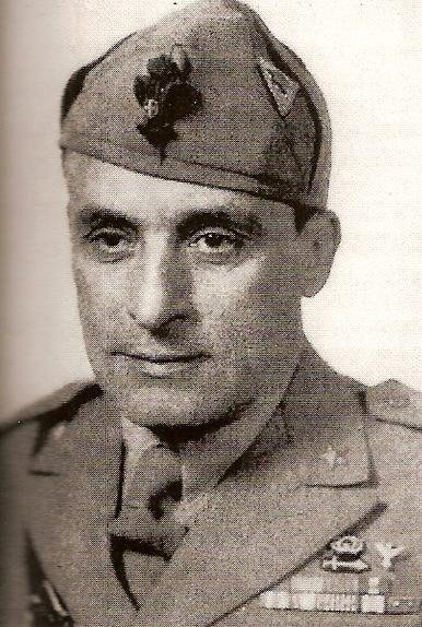 Il generale Giuseppe Castellano, 'generale addetto' al capo di Stato maggiore generale Vittorio Ambrosio. È nato a Prato, ma è di origini siciliane.