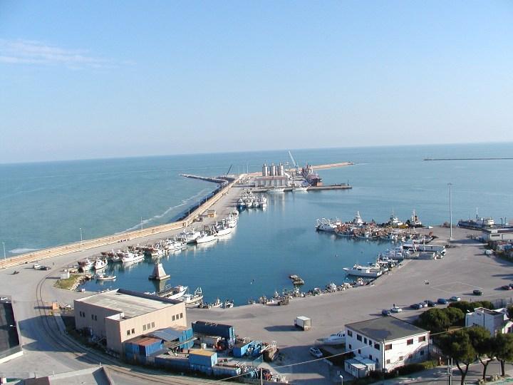 Il porto di Ortona come si presenta oggi