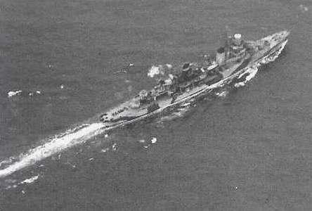 L'incrociatore leggero Scipione Africano nel luglio 1943
