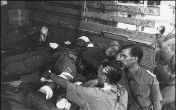 I militari feriti nell'aliante che si è sfracellato