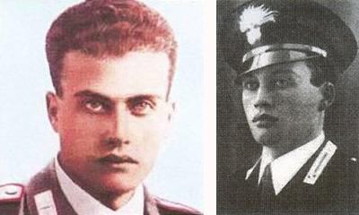 Salvo D'Acquisto, vicebrigadiere dei carabinieri; nato a Napoli, fucilato dai tedeschi nel 1943. Qualcuno ne ha chiesto la beatificazione
