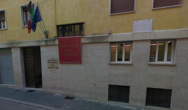 La palazzina oggi: dopo la liberazione è diventata la sede del museo storico della Liberazione