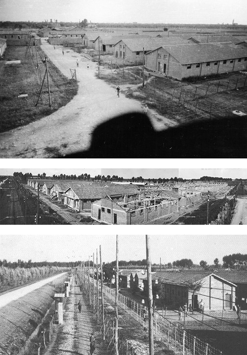 Il campo di concentramento di Fossoli vicino a Carpi