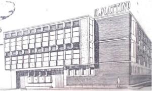 """La nuova sede del """"Giornale del mattino"""" in via delle Ruote"""